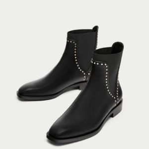 Zara Studded Boots